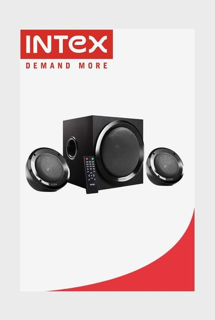 Intex IT- 2202 SUF OS 2.1 Computer Speakers (Black)