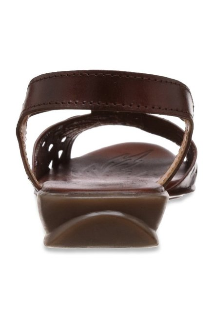 Catwalk Brown Sling Back Sandals