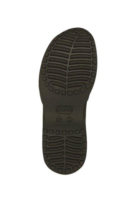 663ef14da Buy Crocs Meleen Twist Espresso   Walnut Casual Sandals For Women ...