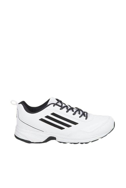 Buy Adidas Lite Primo Syn White   Black Running Shoes For Men Online ... b0711658e