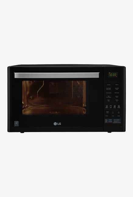 LG MJ3296BFT 32-Ltr Convection Microwave Oven Black