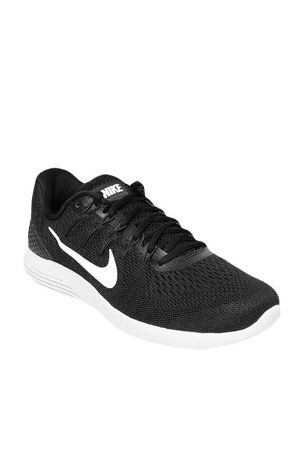 0cd281023a4d Buy Nike Lunarglide 8 Black Running Shoes For Men Online At Tata CLiQ