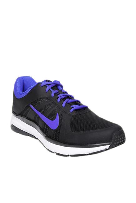 wholesale dealer 264ee 09f83 Buy Nike Dart 12 MSL Black   Purple Running Shoes For Men Online At Tata  CLiQ