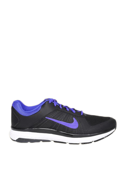 a55883f1a4f6c Buy Nike Dart 12 MSL Black & Purple Running Shoes For Men Online At ...