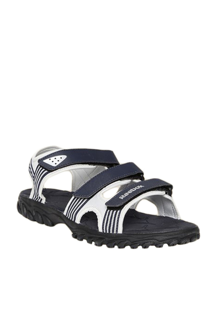 1ce280f1d Buy Reebok Supreme Connect Navy   White Floater Sandals For Men ...