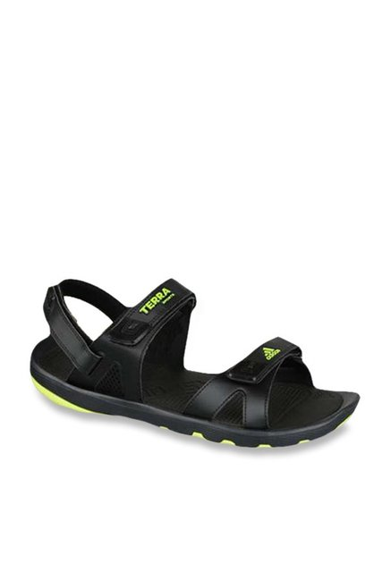 dce5dac7309a Buy Adidas Kerio Syn 3.0 Black Floater Sandals for Men at Best Price   Tata  CLiQ