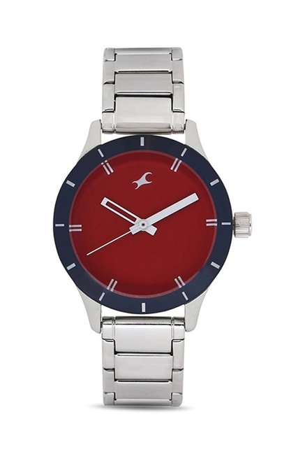 Fastrack 6078SM05 Monochrome Analog Watch for Women