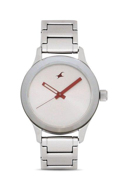 Fastrack 6078SM02 Monochrome Analog Watch for Women