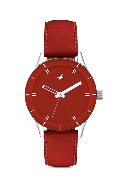 Fastrack 6078SL06 Monochrome Analog Watch for Women