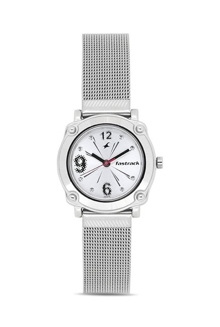 Fastrack 6027SM01 Casual Analog Watch for Women