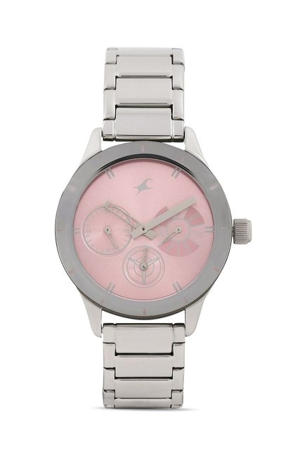 Fastrack 6078SM07 Monochrome Analog Watch for Women