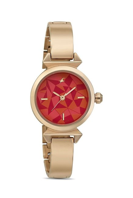 Fastrack 6131WM01 Mineral Cocktail Analog Watch for Women