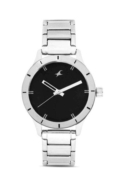 Fastrack 6078SM06 Monochrome Analog Watch for Women