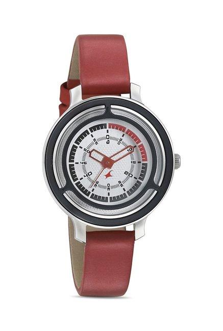 Fastrack 6140KL02 Motorhead Analog Watch for Women