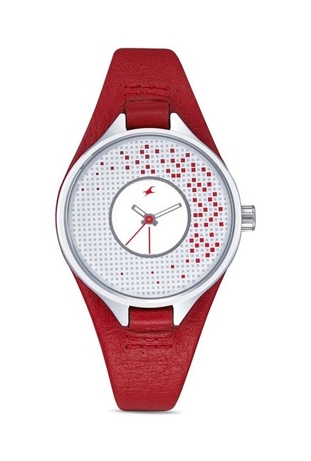 Fastrack 6058SL02 Upgrades Analog Watch for Women