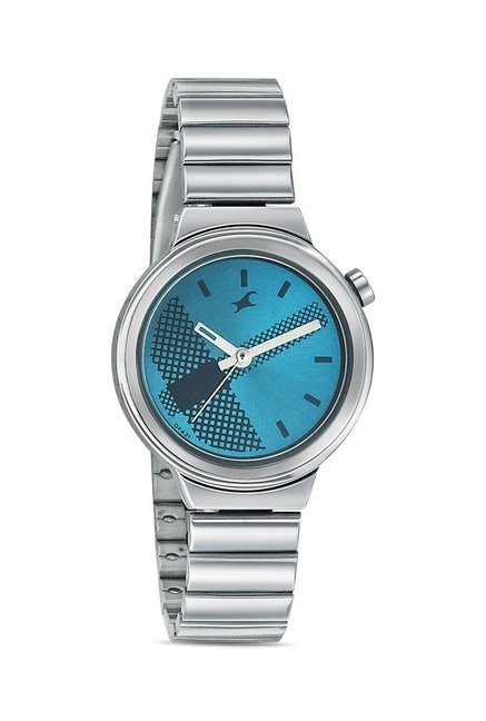 Fastrack 6149SM01 Bare Basics-Checkmate Watch for Women