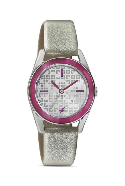 Fastrack 6144SL01 Mineral Cocktail Analog Watch for Women