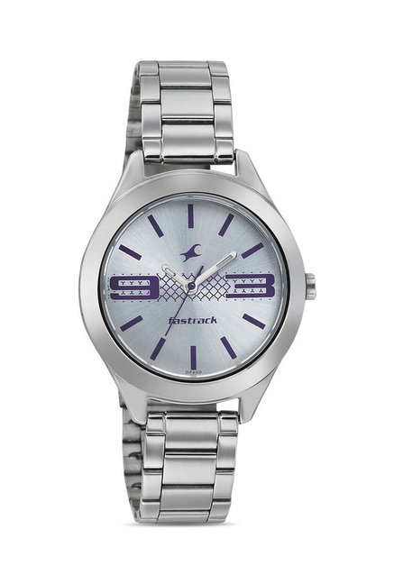 Fastrack 6153SM01 Bare Basics-Checkmate Watch for Women