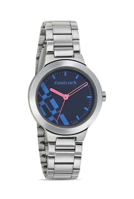 Fastrack 6150SM03 Bare Basics-Checkmate Watch for Women