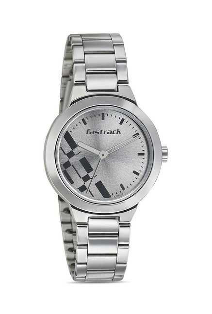 Fastrack 6150SM01 Bare Basics-Checkmate Watch for Women