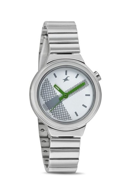 Fastrack 6149SM03 Bare Basics-Checkmate Watch for Women