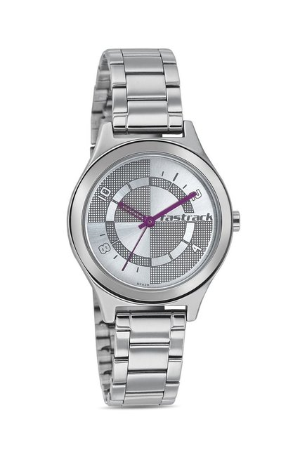 Fastrack 6152SM01 Bare Basics-Checkmate Watch for Women