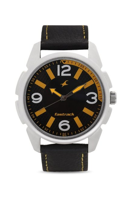 Fastrack 3124SL03 Warpaint Analog Watch for Men