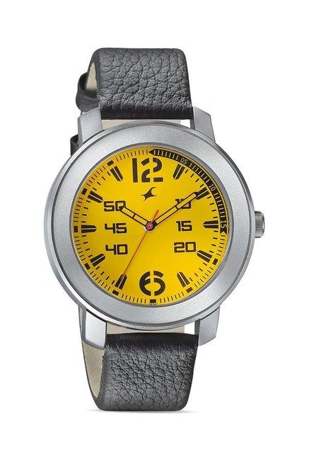 Fastrack 3121SL03 Warpaint Analog Watch for Men