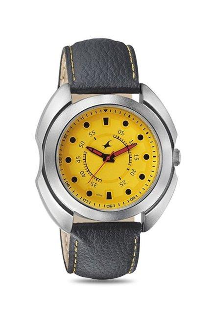 Fastrack 3117SL03 Warpaint Analog Watch for Men