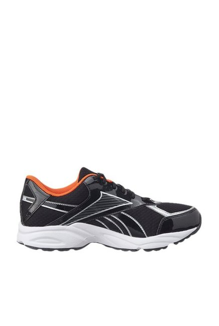 5ed26a5642f Buy Reebok Luxor LP Black   Silver Running Shoes for Men at Best ...