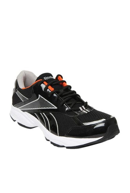 0aedd9d22a9 Buy Reebok Luxor LP Black   Silver Running Shoes for Men at Best Price    Tata CLiQ