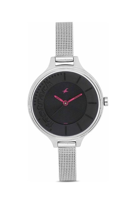 Fastrack NG6122SM03 Analog Black Dial Women's Watch (NG6122SM03)