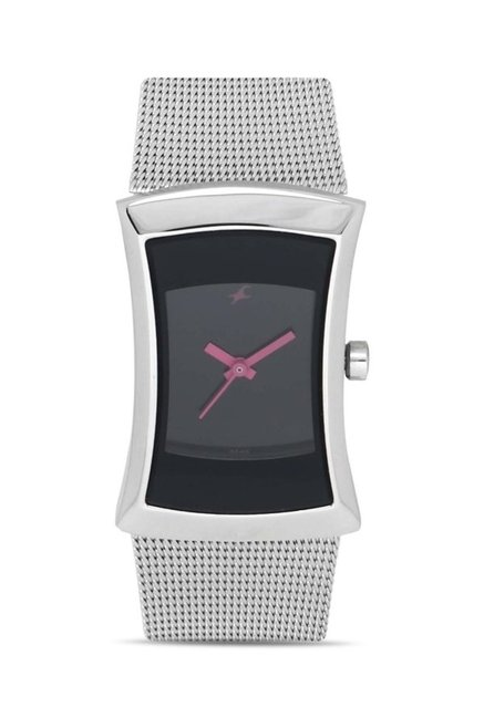 Fastrack NG6093SM01C Women Analog Watch for Women