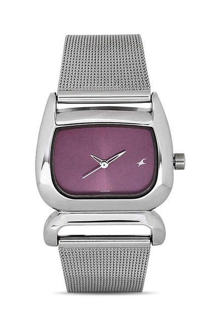 Fastrack NG6091SM01C Women Analog Watch for Women