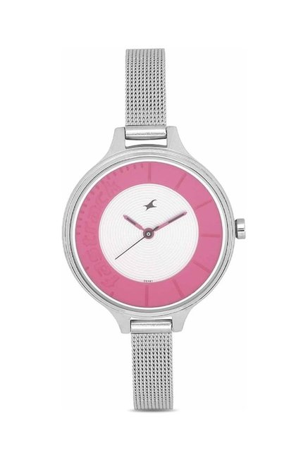 Fastrack NG6122SM01C Women Analog Watch for Women
