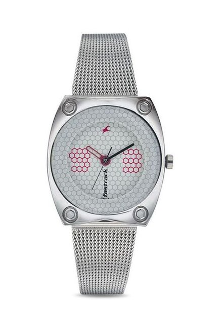 Fastrack NG6026SM01C Casual Analog Watch for Women
