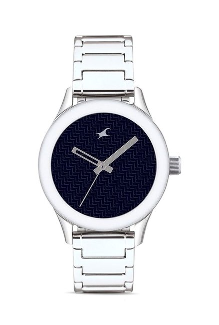 Fastrack NG6078SM04C Monochrome Analog Watch for Women