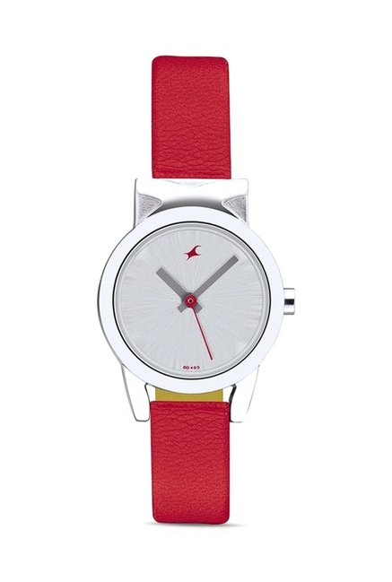 Fastrack NG6088SL02C Women Analog Watch for Women
