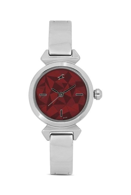 Fastrack NG6131SM01C Mineral Cocktail Analog Watch for Women