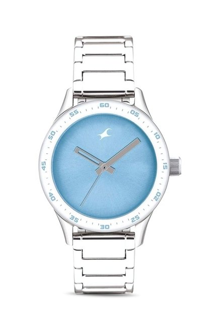 Fastrack NG6078SM03C Monochrome Analog Watch for Women