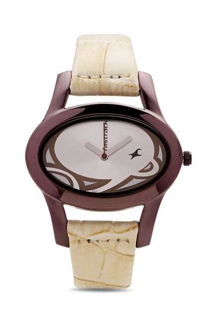 Fastrack NG9732QL01CJ Casual Analog Watch for Women