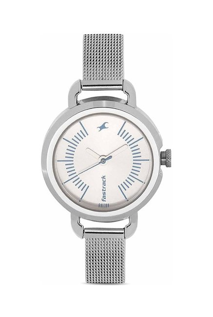 Fastrack NG6123SM02C Storm Analog Watch for Women