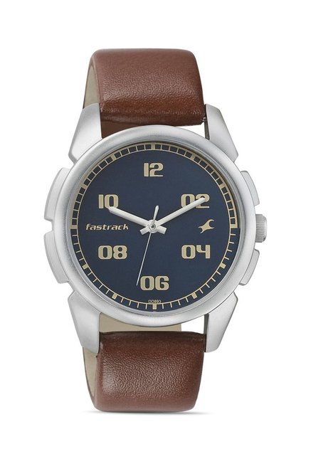 Fastrack 3124SL02 Casual Analog Blue Dial Men's Watch