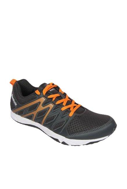 4b82ae582cb7 Buy Reebok Arcade Runner Black   Orange Training Shoes for Men at Best Price    Tata CLiQ