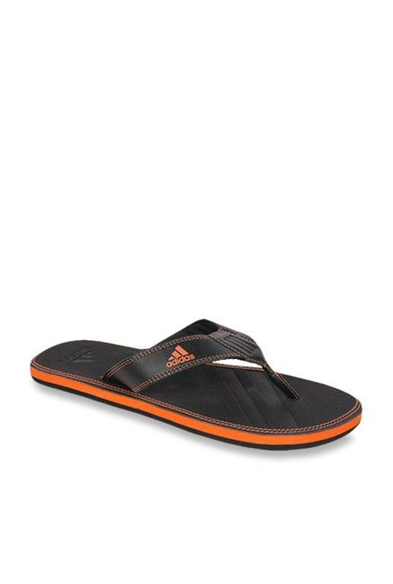 ad2bc780df51 Buy Adidas Brizo 4.0 MS Black Flip Flops for Men at Best Price   Tata CLiQ