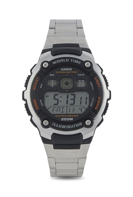 9ce0fc5e42 Buy Casio Youth Series AE-2000WD-1AVDF (D084) Digital Watch at Best Price @  Tata CLiQ