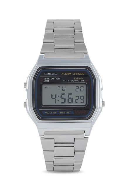 3813aa77c3fe Buy Casio A158WA-1DF (D011) Vintage Collection Digital Watch at Best Price    Tata CLiQ