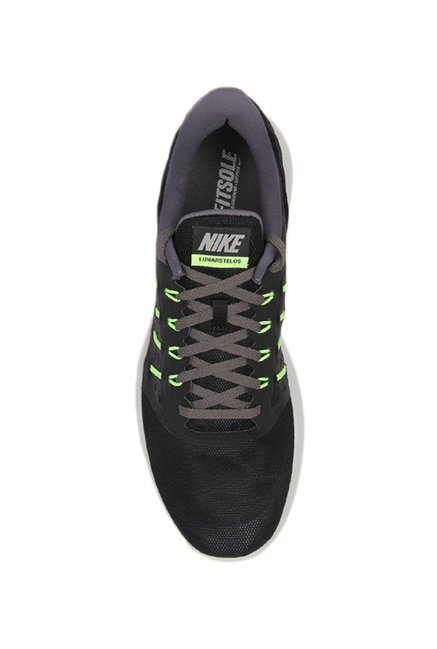 c1fcd3f08ba Buy Nike Lunarstelos Black Running Shoes for Men at Best Price ...