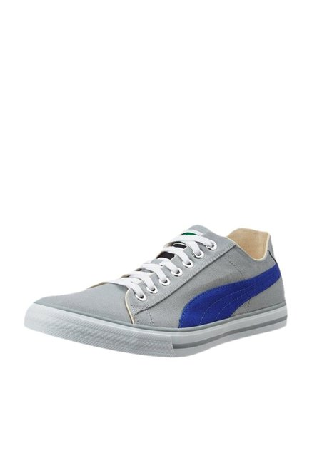 038747169ce Buy Puma Hip Hop 5 IDP Grey   Blue Sneakers for Men at Best Price   Tata  CLiQ