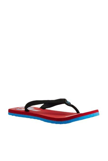 7e51614a234d Buy Puma Wave II IDP Black   Red Flip Flops for Men at Best Price   Tata  CLiQ